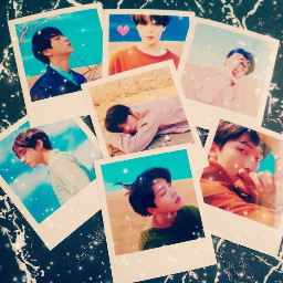 freetoedit bts card kpop loveyourself_tear