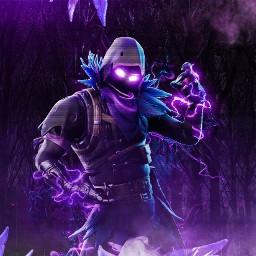 fortnite raven fortniteraven purple background freetoedit
