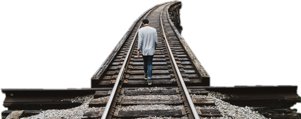 freetoedit ftestickers railway man people