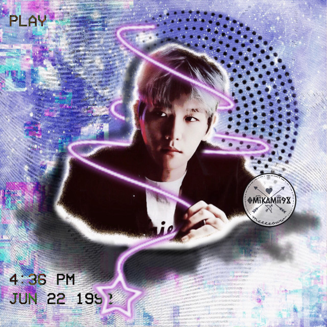Starline Byun! 🎉 #exo #kpop #star #glitch #galaxy #kpopbrush #movie #padtel #shadow #baekhyun #kpopidols