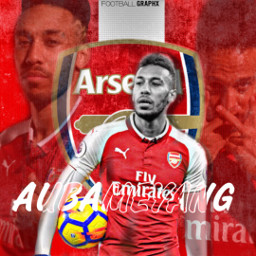 freetoedit aubameyang football arsenal