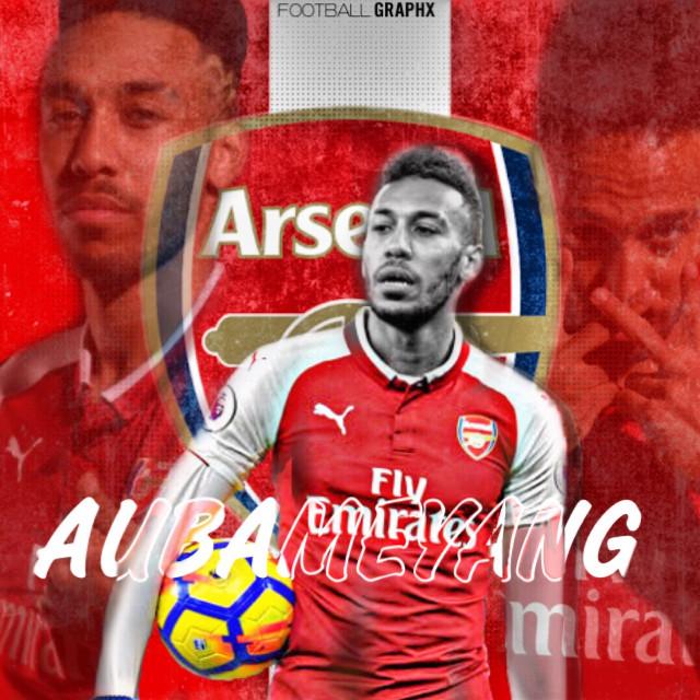 #freetoedit #Aubameyang #Football #Arsenal