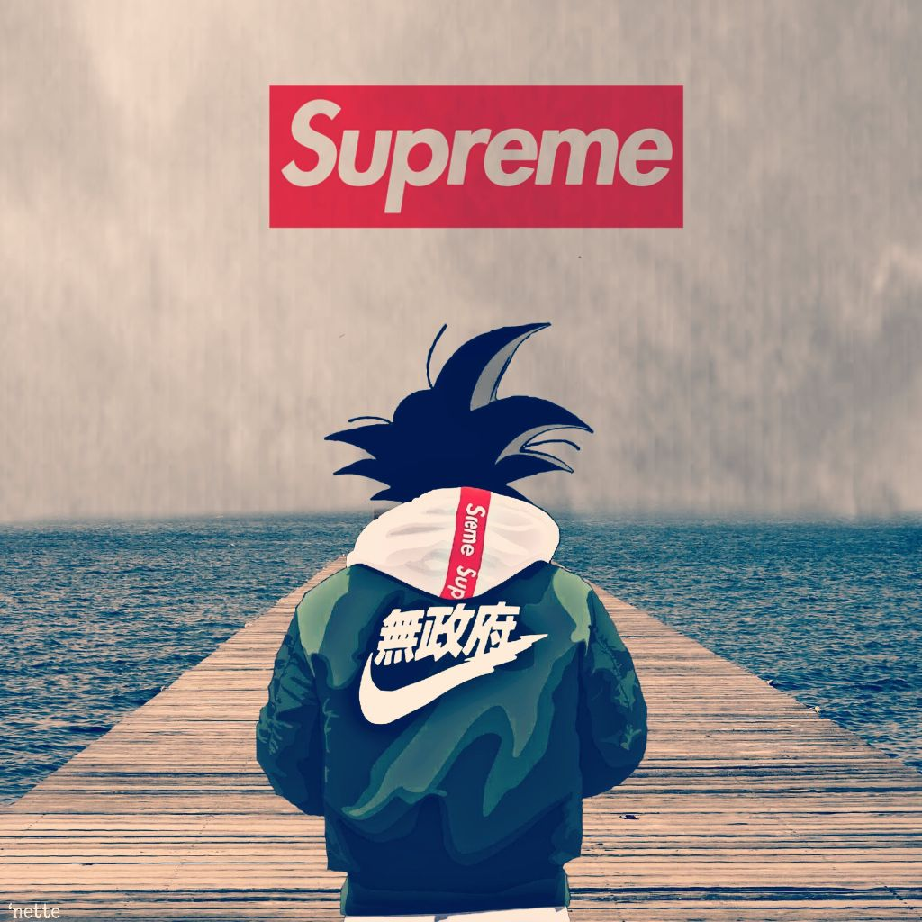 #freetoedit #supreme #goku #supremewallpaper #nike #fire