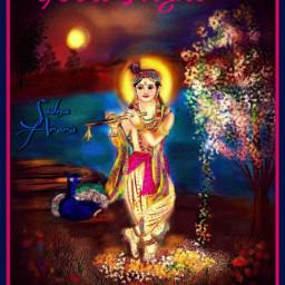 krishna dharmik hindugod india art freetoedit