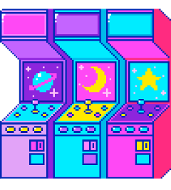 Largest Collection of Free-to-Edit arcade game Stickers on