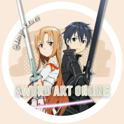 sao swordartonline kirito asuna anime freetoedit