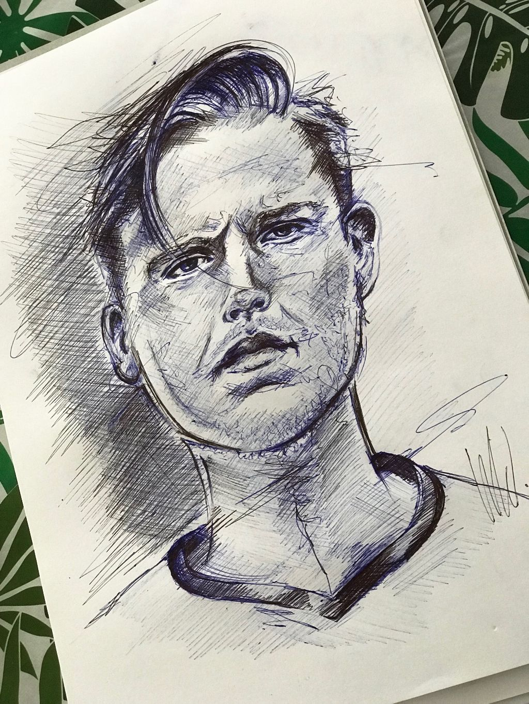Nick 11.08.18 #freetoedit #drawing #ballpendrawing #ballpen #sketch