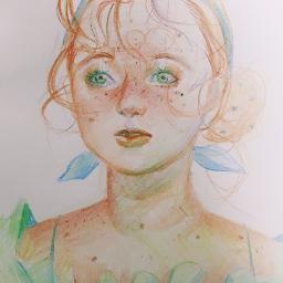 france people girl illustration art