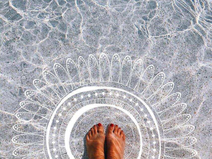 #freetoedit #zentangleart #barefoot