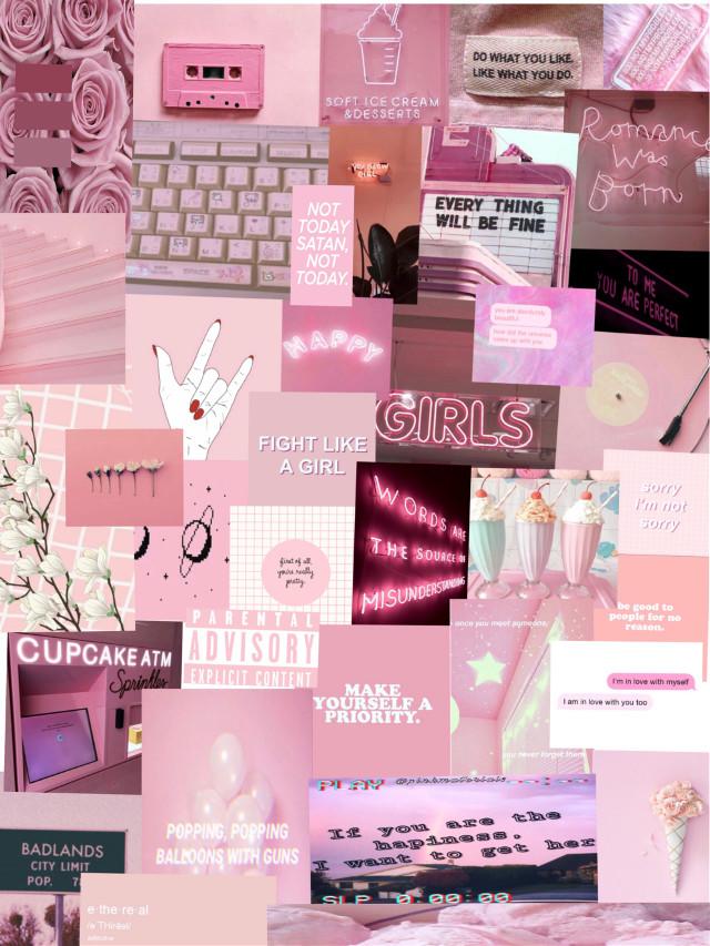 #freetoedit #pink #aesthetic #wallpaper