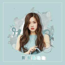 rose chaeyoung blackpink bp kpoppasteledit