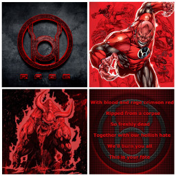 dc red lanterncorps