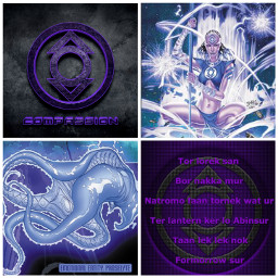 dc purple lanterncorps