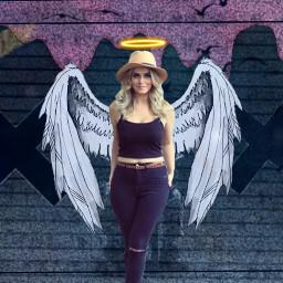 angel wings angelcrown madebyme notme