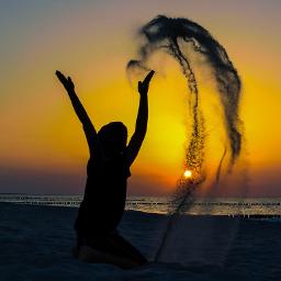 ostsee sunset beach lumia950xl freetoedit