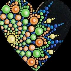 heart mandala freetoedit