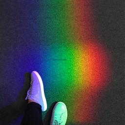 lookdown nofilter shoes rainbow photograph pcworldphotoday pcmylife pcphotooftheday pcholidaythrowback pcadayinmylife pcstripepattern freetoedit