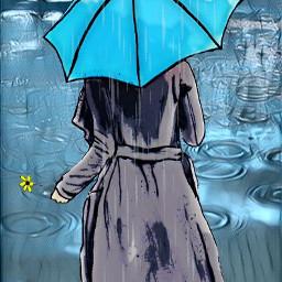 freetoedit myedit rain umbrella umbrellagirl