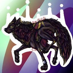 wolf at arttrade art mqart