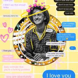 tomfelton tomfeltonisanangel tomfeltonedit textmessages love freetoedit