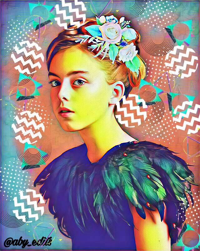 """Girl""  #freetoedit#edited #girl #beauty #cute #beautiful #picsart #effects #magic #brushes #flower #black #dress #cuteness #royal #yellow"