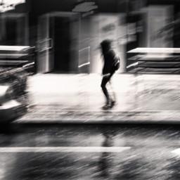 blackandwhite city rain sttret photography