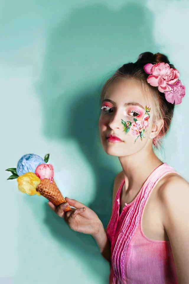 #freetoedit #flower #icecream #like4follow #like4like