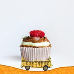 irccupcakeday cupcakeday freetoedit car cupcake