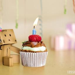 freetoedit irccupcakeday cupcake danbo birthday