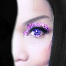 freetoedit selfie eyes galaxymagiceffect eyesgalaxy