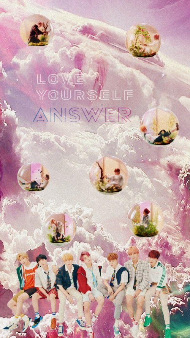 Unduh 300+ Wallpaper Bts Love Yourself Answer  Paling Keren