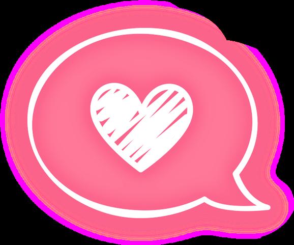 kawaii aesthetic cute pink stickers transparent heart...