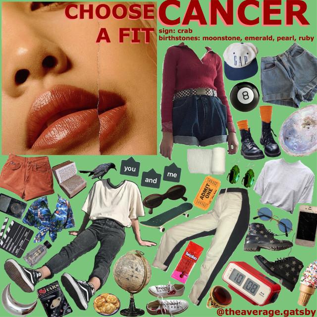 #freetoedit #cancer #zodiac #horoscope