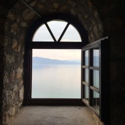 freetoedit window woter sky nofilter mountain
