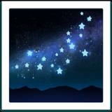 galaxy night emoji emoticon iphone