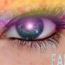 freetoedit lensflare rainbowlightcontest rainbowandgalaxy glitch