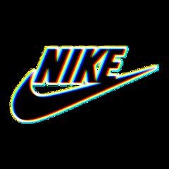 nike glitch brand aesthetic tumblr