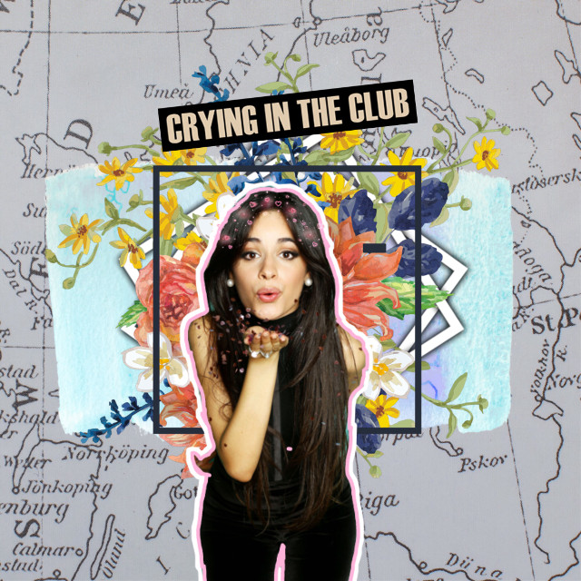 #freetoedit #camilacabello #camila #camilizer #cryingintheclub #song #pop #music #woman #style #flowers #maps