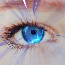 freetoedit notmyeye eye remix blueeye