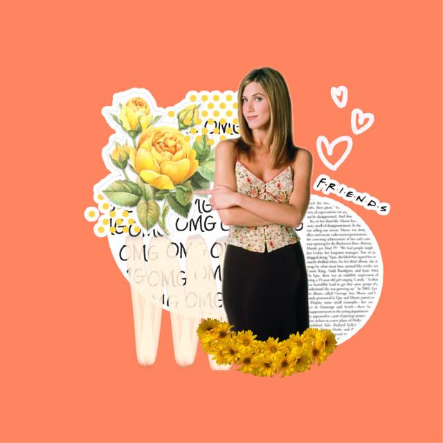 #freetoedit #jenniferaniston #actress #woman #love #fan #friends #rachelgreen #character #aesthetic #edit #art #tvshow