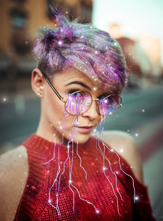 #freetoedit #crystals #crystaltears #tears #glitter #galaxy