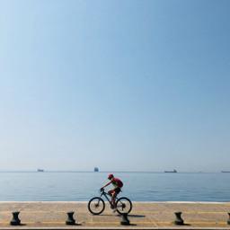 freetoedit bike biker beach pcshadow pctheworldaroundme pccentered pctourist pcanythingwithwheels anythingwithwheels