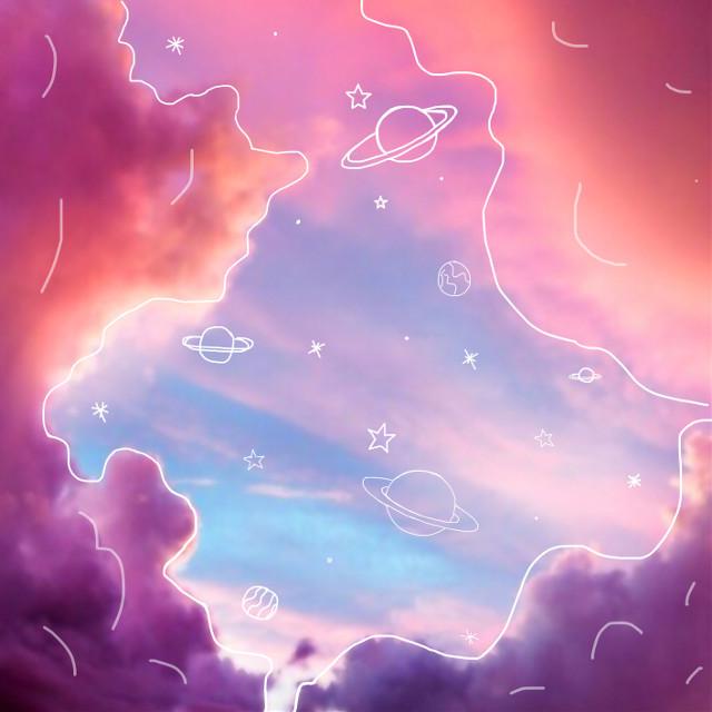 #freetoedit #sky #clouds #drawing #skydoodle #doodledit