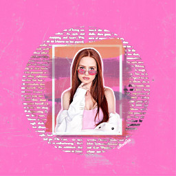 freetoedit madelainepetsch retro scratches pink