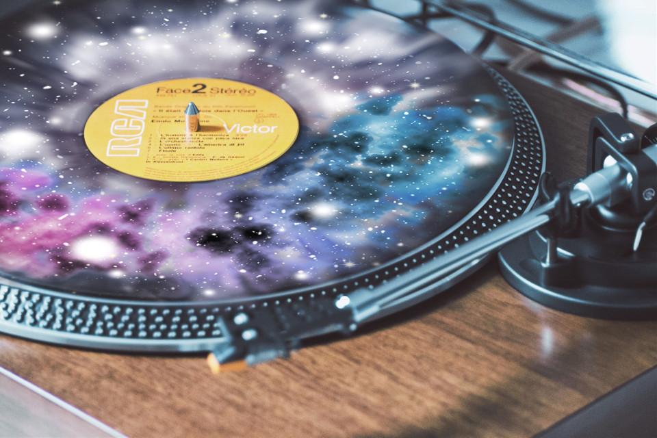 #freetoedit #vinyl #galaxy #music
