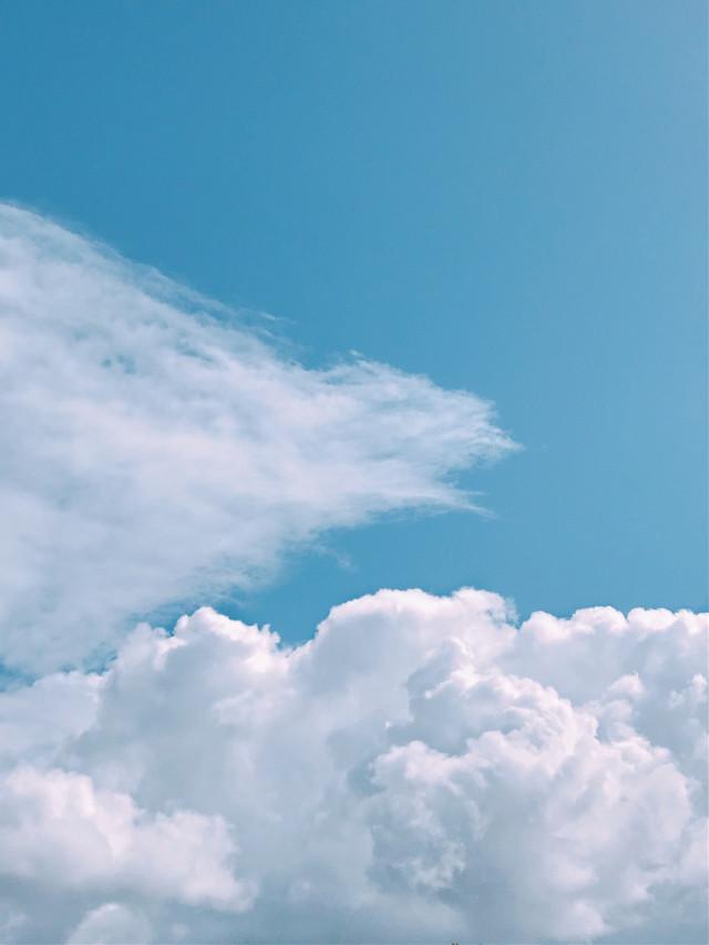 #freetoedit  #blueskyandclouds #beautifulcloudformation #naturephotography