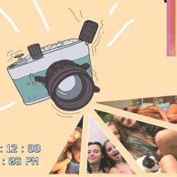 freetoedit artsy cute camera rain