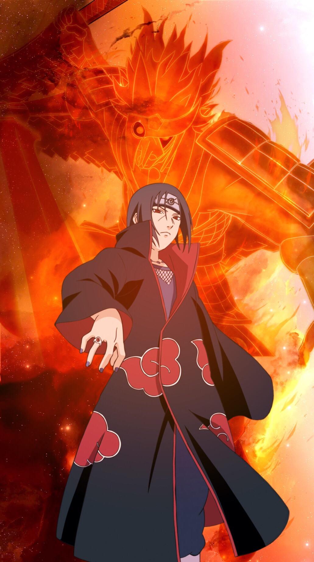 anime Naruto narutoshippuden shippuden itachi itachiuc...