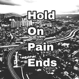 hope pain blackandwhite city quotes