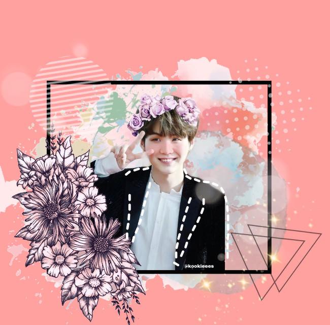 Suga #bts #suga #Kpop #gummysmile #pink #btsyoongi #yoongi